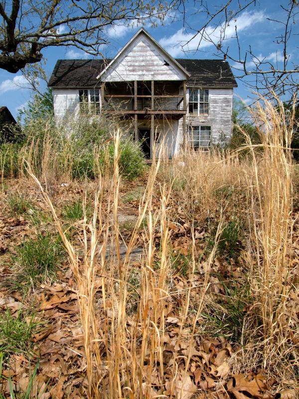 Overgrown Ozarks Farmhouse