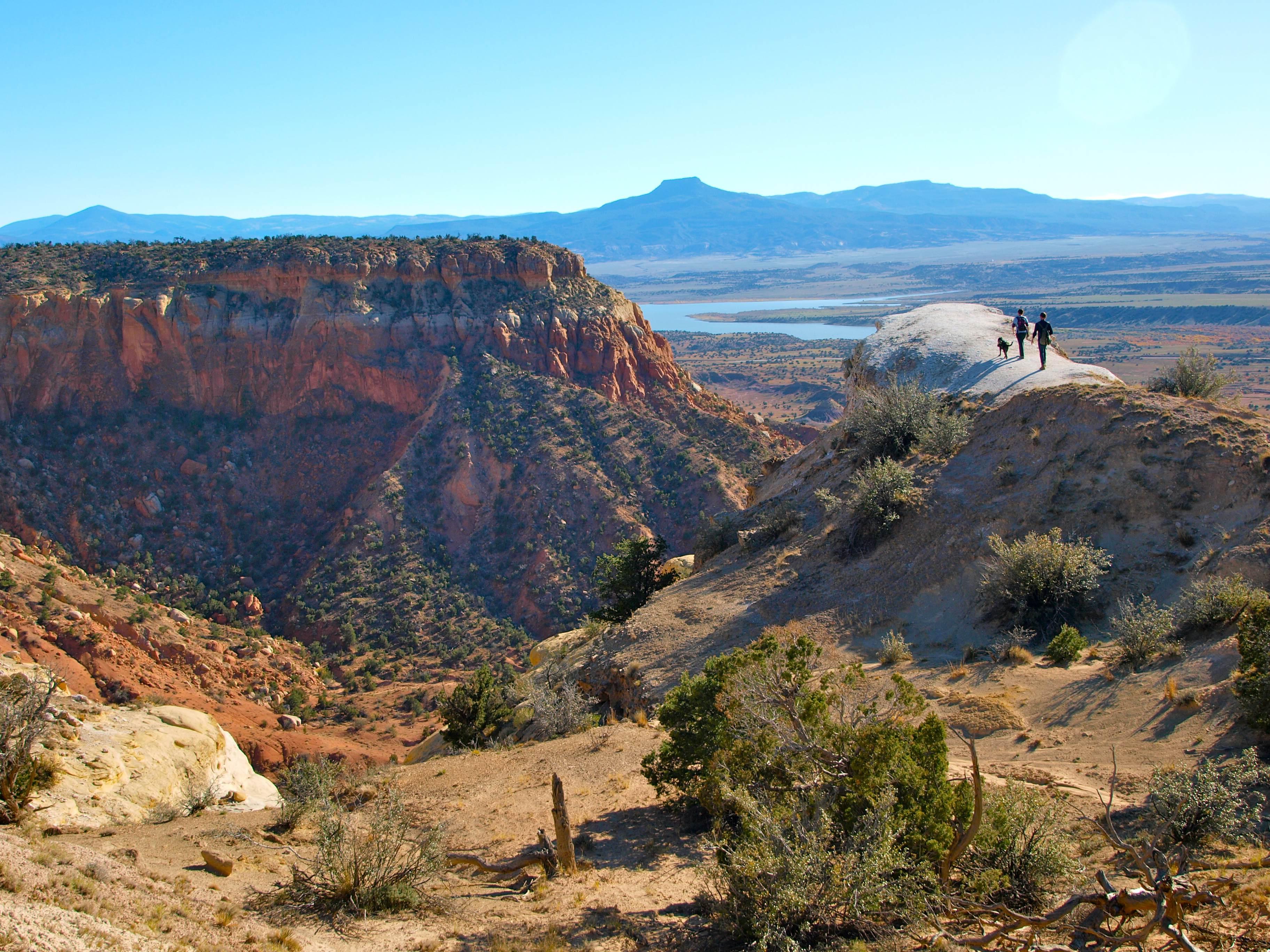 Kitchen Mesa Hike New Mexico