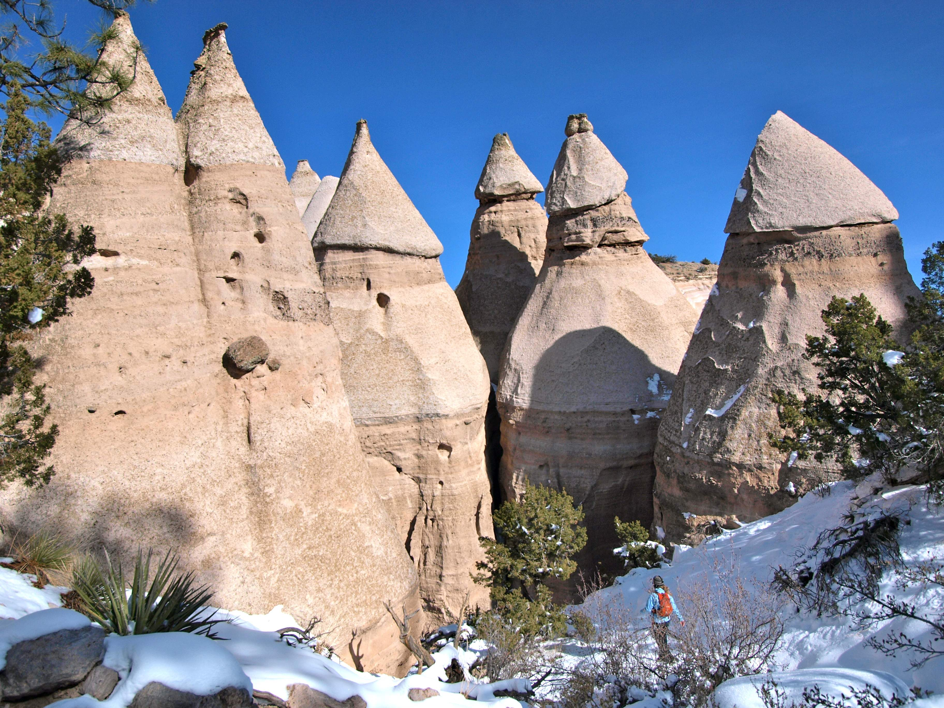 Tent Rocks & Best Hikes on Earth: Tent Rocks | Travels with the Blonde Coyote