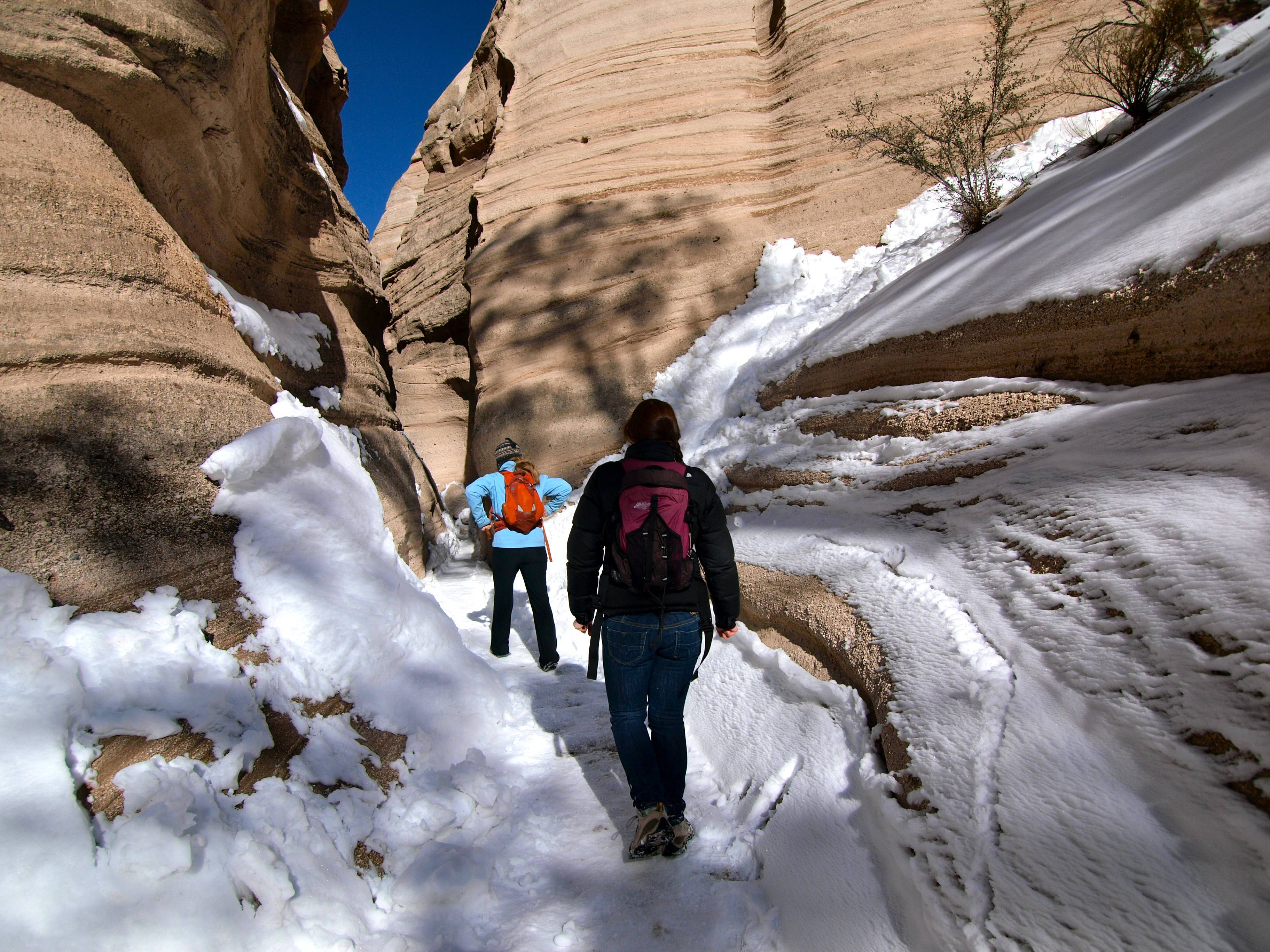 Sarah ... & Best Hikes on Earth: Tent Rocks | Travels with the Blonde Coyote