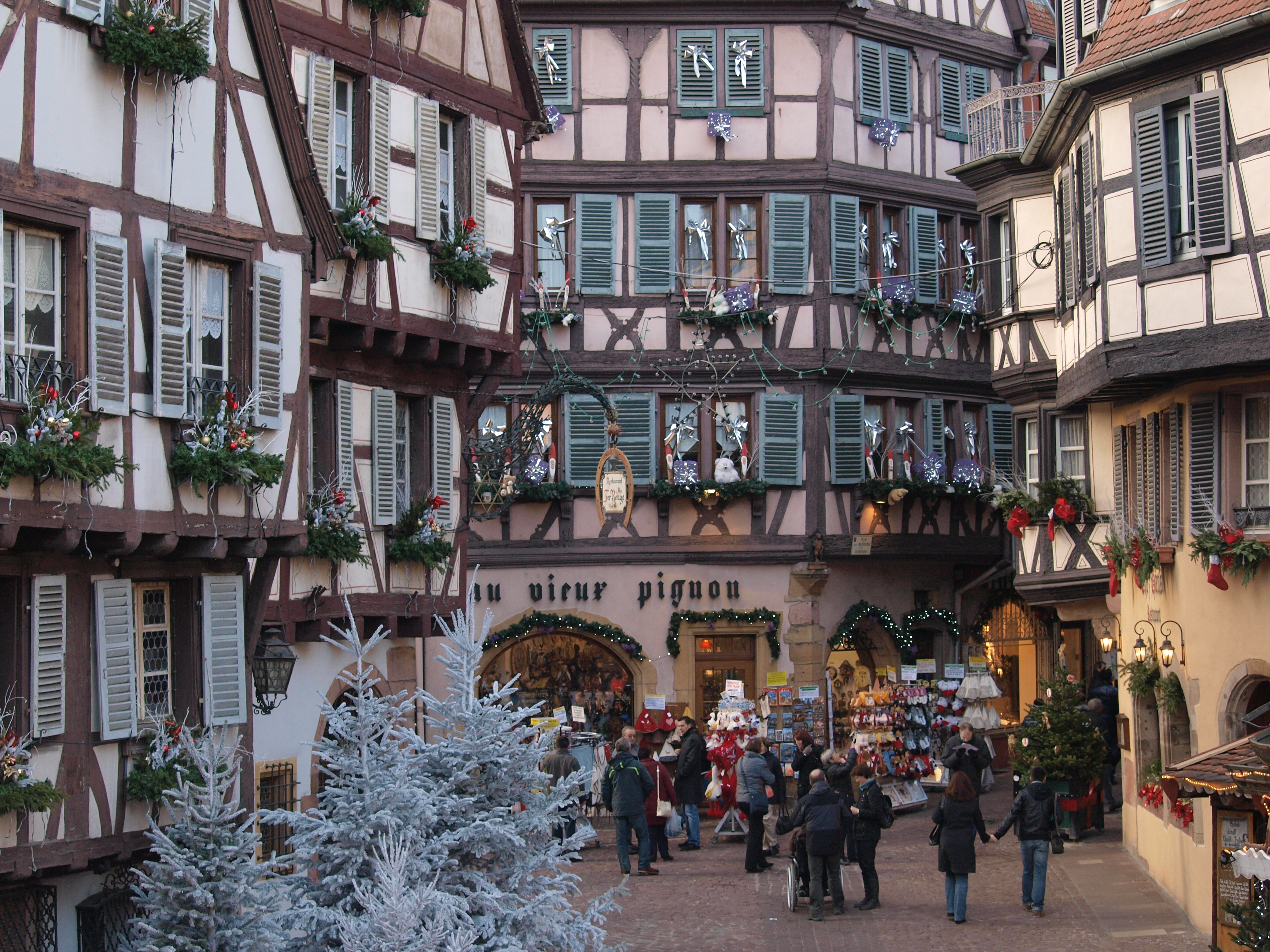 Christmas in colmar travels with the blonde coyote for Colmar pictures