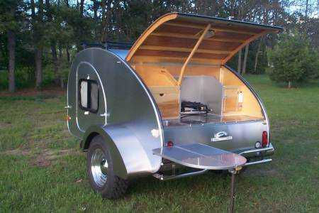 Camp Inn Teardrop Trailer