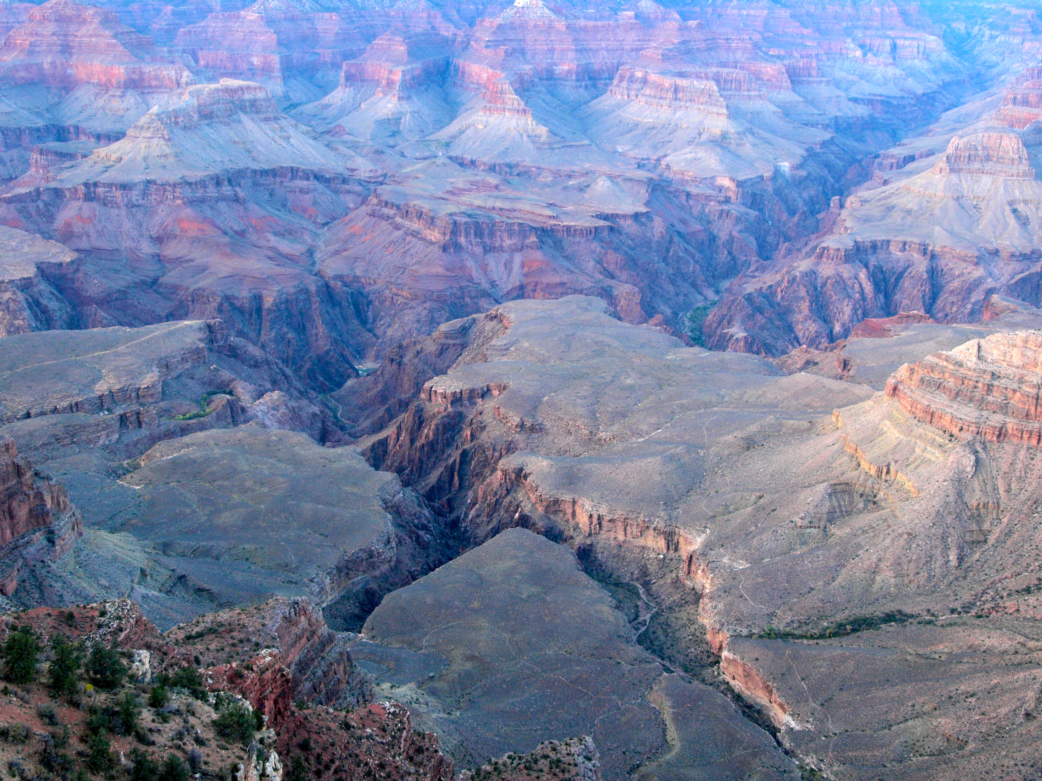 Grand Canyon Day Tonto Bench The Weight Of Water Travels - Grand canyon pa map