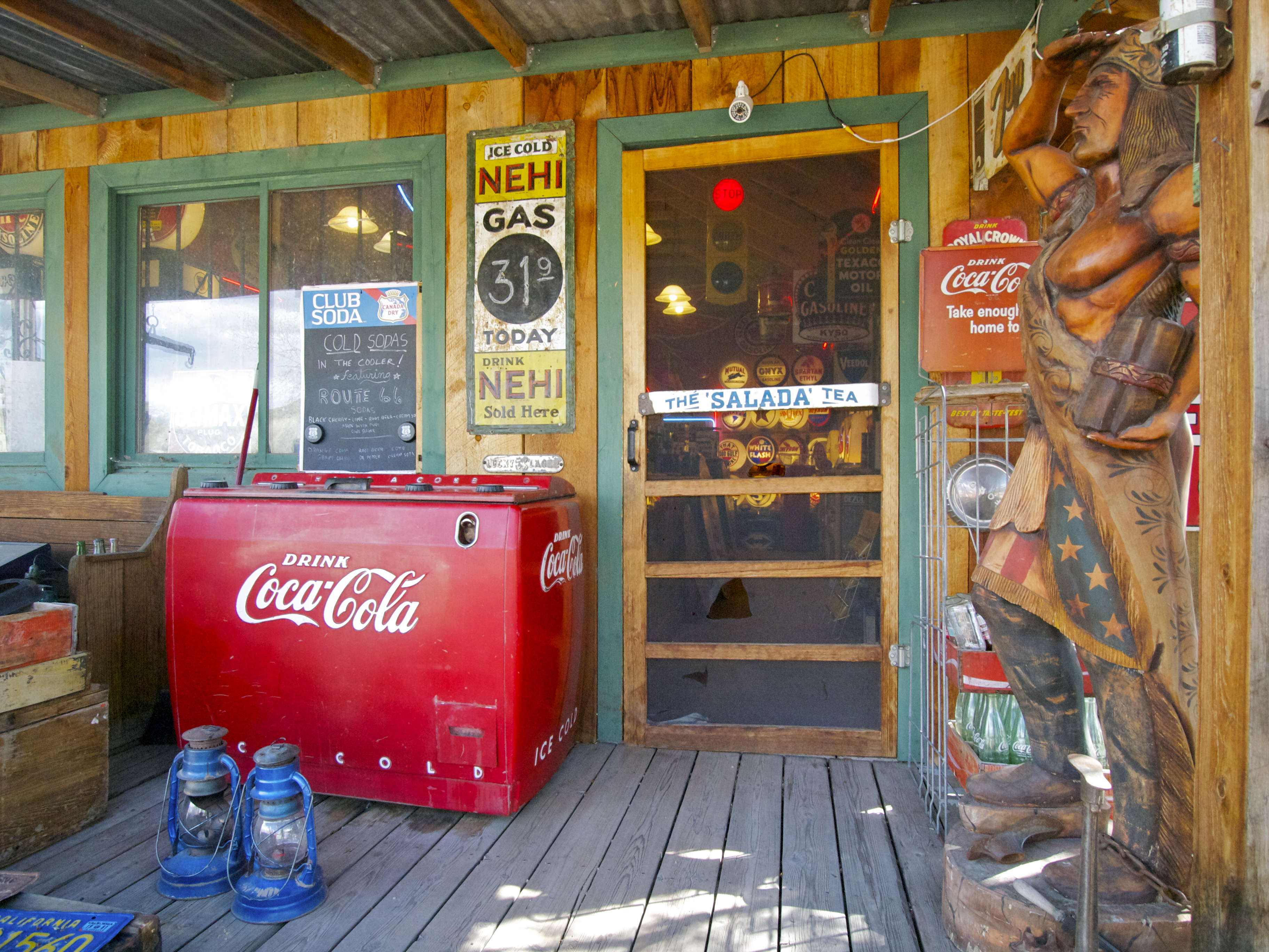 Gas Stations With Car Wash >> Classic Gas Museum! | Travels with the Blonde Coyote
