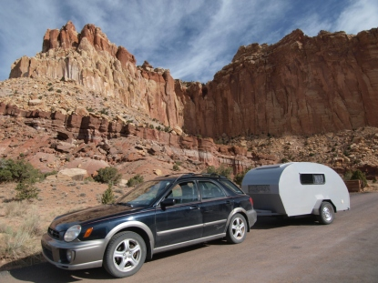 The Raven & the Rattler visit Capitol Reef National Park in Utah