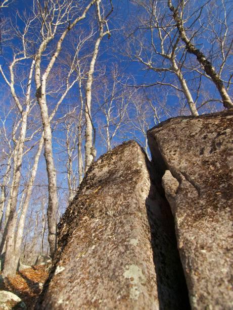 Split Boulder & Sky