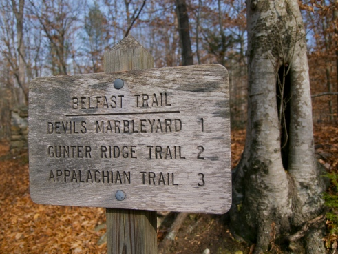 The Route to the Devil's Marbleyard
