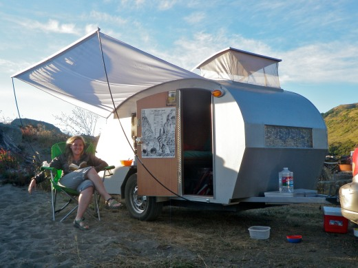 Camping on the Lost Coast... definitely scheming!