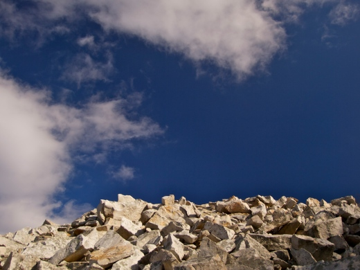 White Rocks, Blue Sky