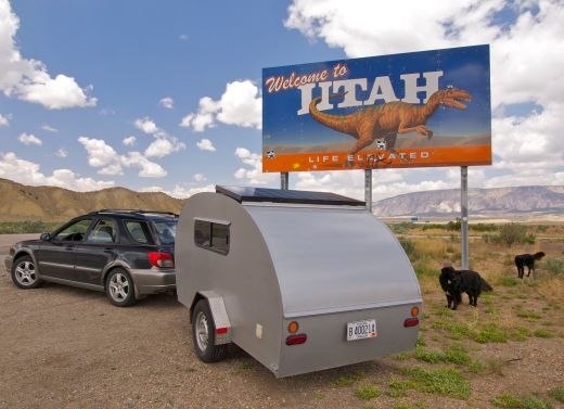 Life Elevated! On the road with the Teardrop in Utah.