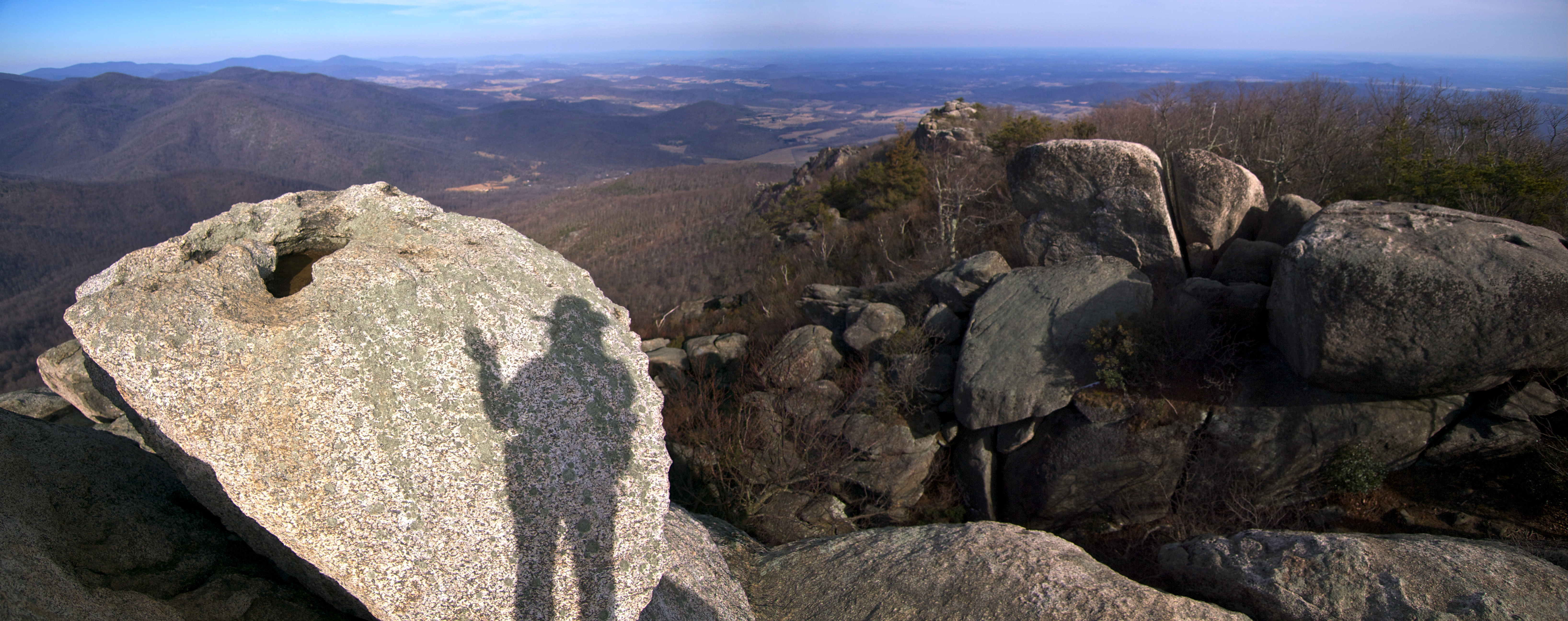 Happy Birthday Hike Old Rag Travels With The Blonde Coyote