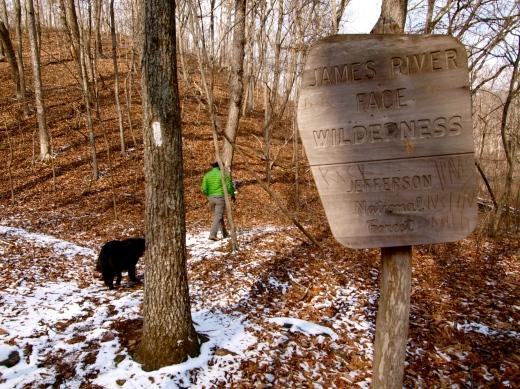 James River Face Wilderness, Winter