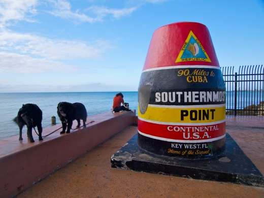 Southernmost Point in the USA!
