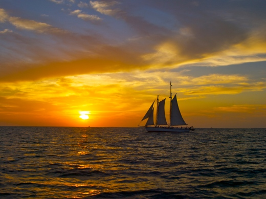 Sunset Schooner