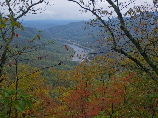 James River Valley Overlook, Fall