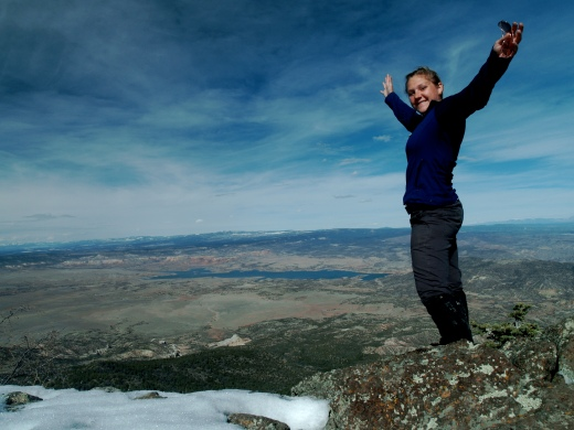 My 27th Birthday on the summit of the Pedernal in New Mexico