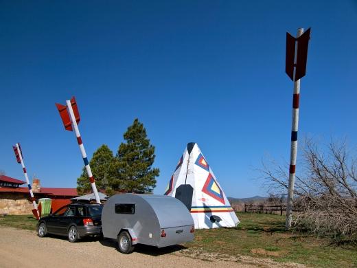 Trading Post Teardrop near Mesa Verde, Colorado