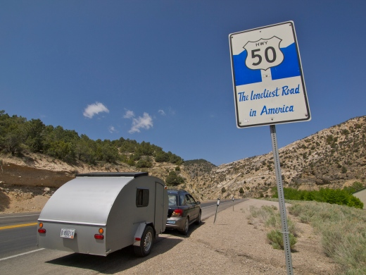 Highway 50: the Loneliest Road in America!