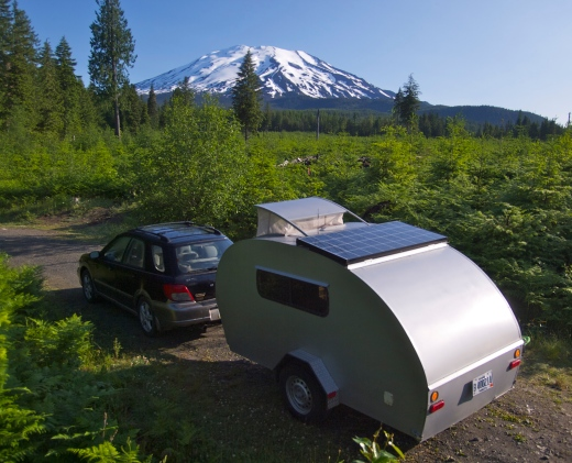 Boondocking by Mount Saint Helens