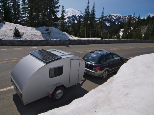 Mount Rainier Drive-By