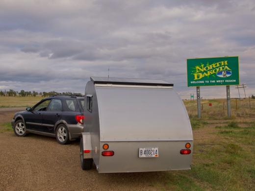 Into North Dakota