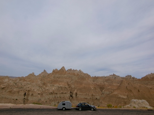 Cruising through the Badlands