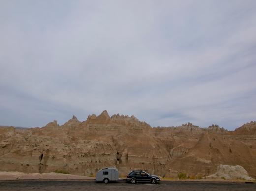 Cruising through the Badlands