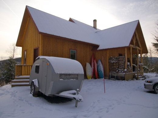 First Snow, in Vermont