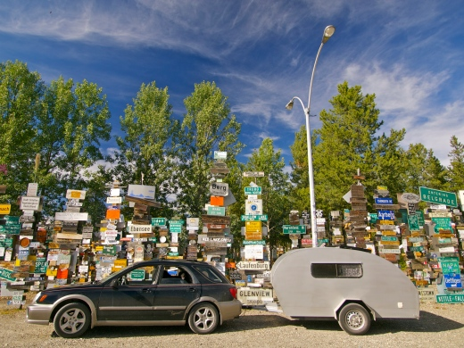 The Yukon's Signpost Forest