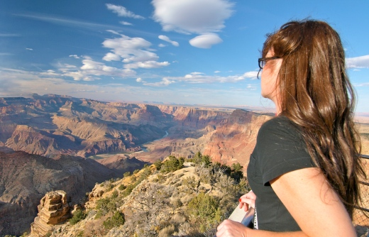 Becky Meets the Grand Canyon