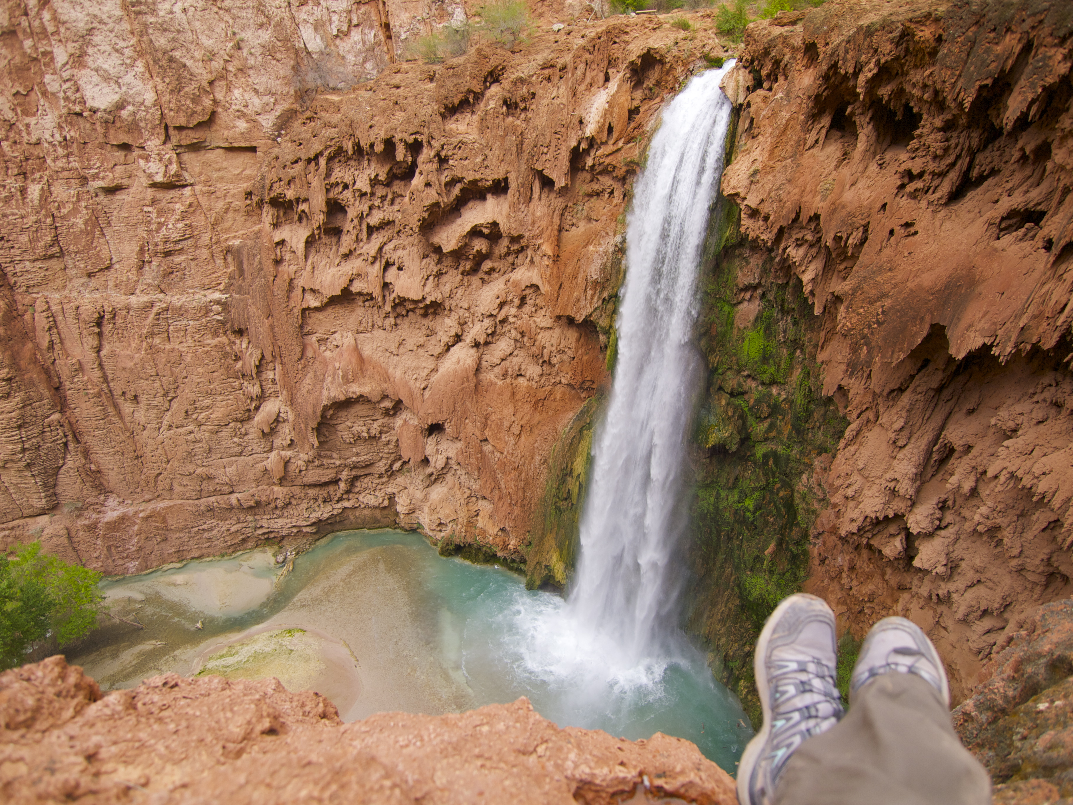 Grand Canyon Down Havasu To The Colorado Travels With The - Colorado waterfalls map