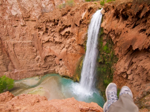 Overlooking Mooney Falls