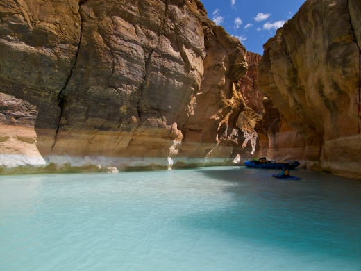 The End of Havasu Creek