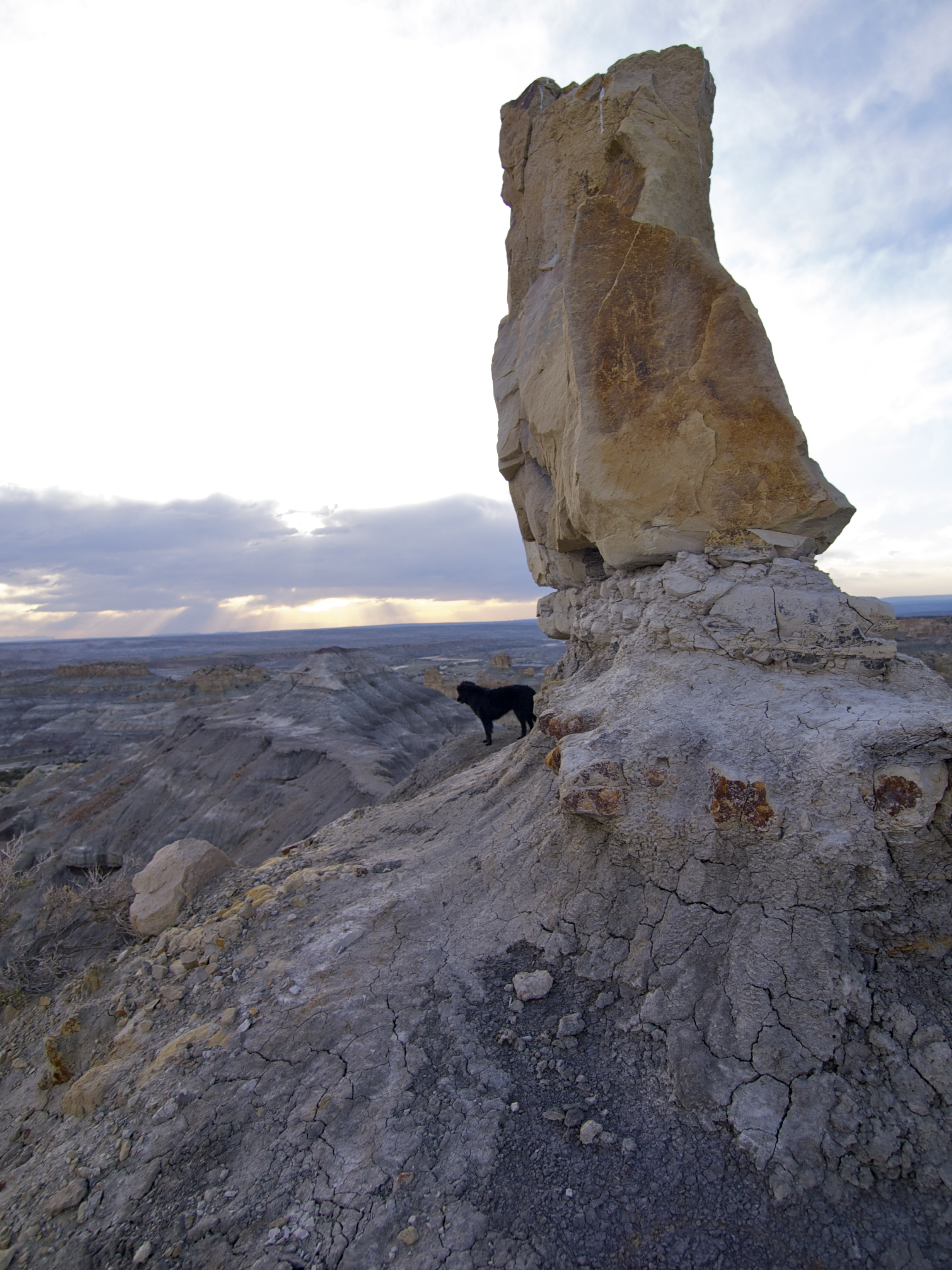 on the road again angel peak nm travels with the