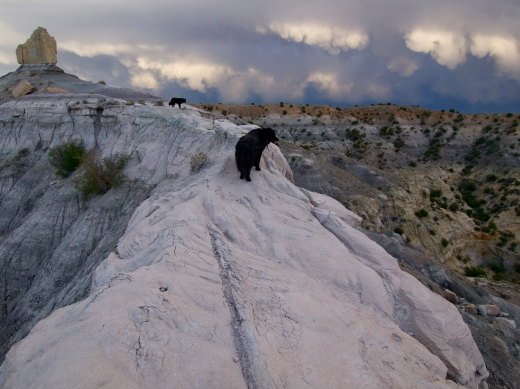 Sunset Storm At Angel Peak, NM