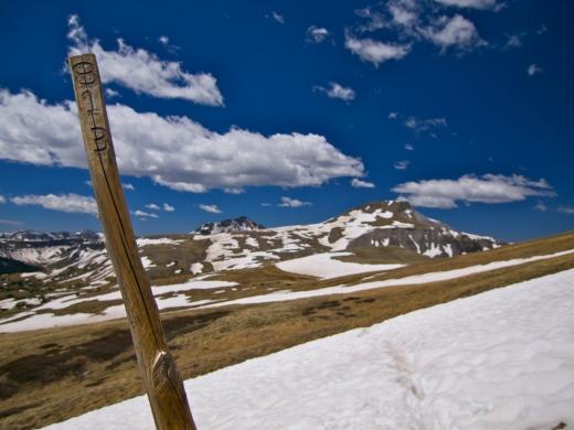 Trail #813 aka the Continental Divide Trail