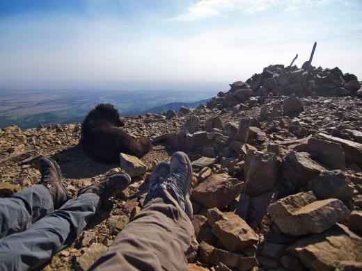 Summit shot! 13,625 feet!