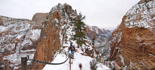 The Crossing to Angels Landing