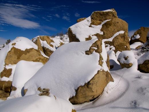 Snowy Sandstone