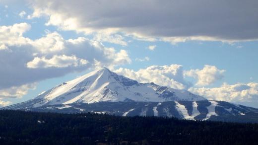 Lone Peak, yeah I skied that