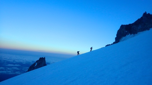 Dawn on Mount Hood
