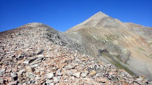 Lone Peak from Bonecrusher