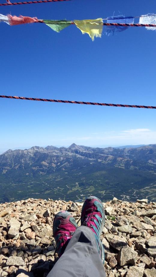 Gallatin Peak from Lone Peak