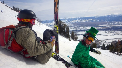 Saint patty's Day in Jackson Hole