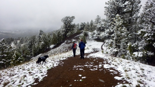 Spring Hiking, Gallatin Range