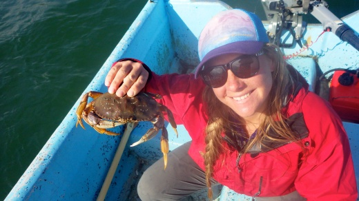 Crabbing for Dungees in the Newport Bay, OR