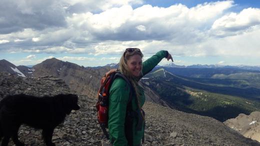 Lone Peak from Woodward Mountain