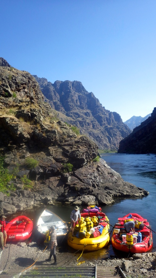 My First Rafting Trip! Hells Canyon