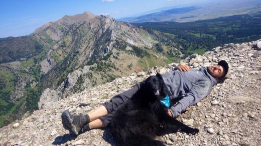 Summit Buddies on Ross Peak